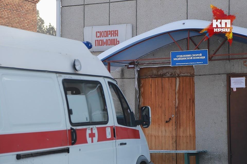 Медики доставили в больницу семилетнего ребенка.