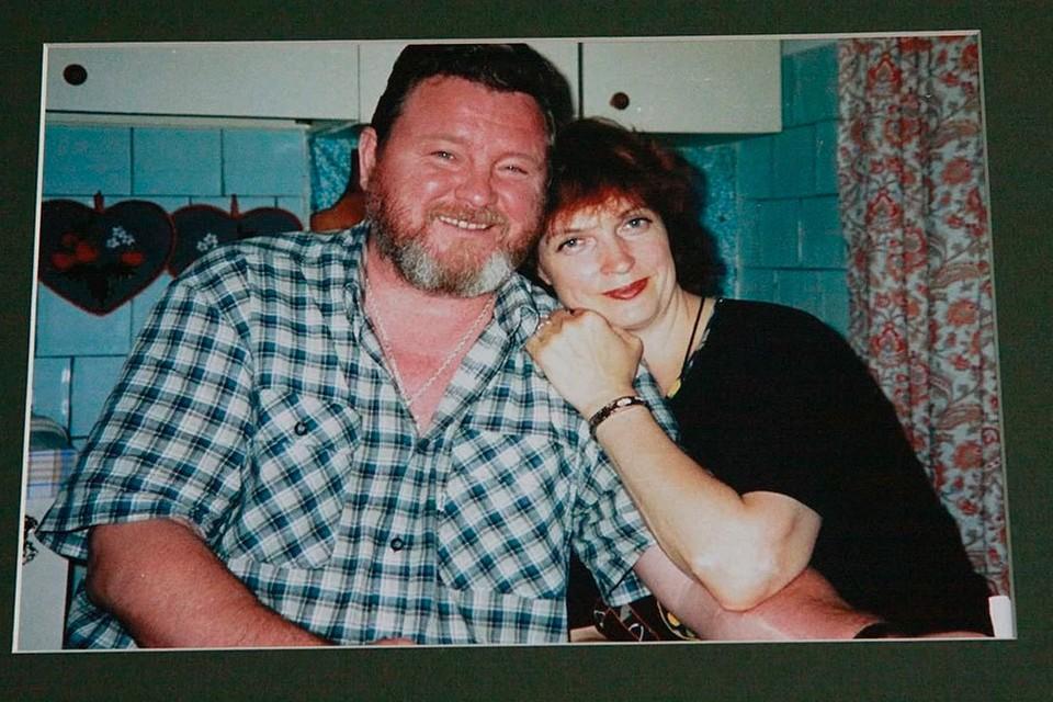 Михаил Евдокимов вместе с женой Галиной.