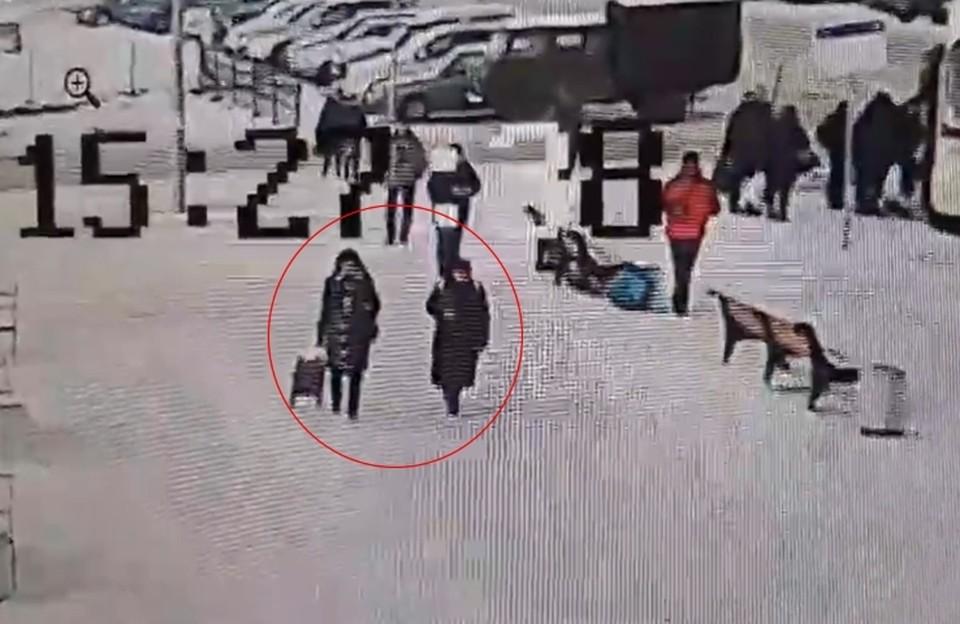 Воришки попали на камеры видеонаблюдения. Фото: vk.com/vyborgvk