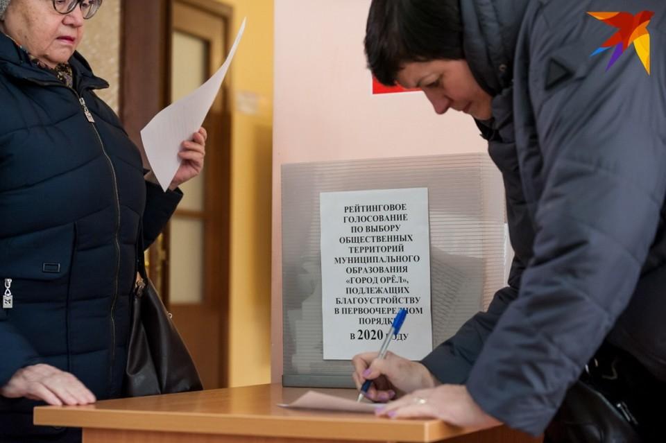 Стали известны итоги рейтингового голосования по благоустройству Орла