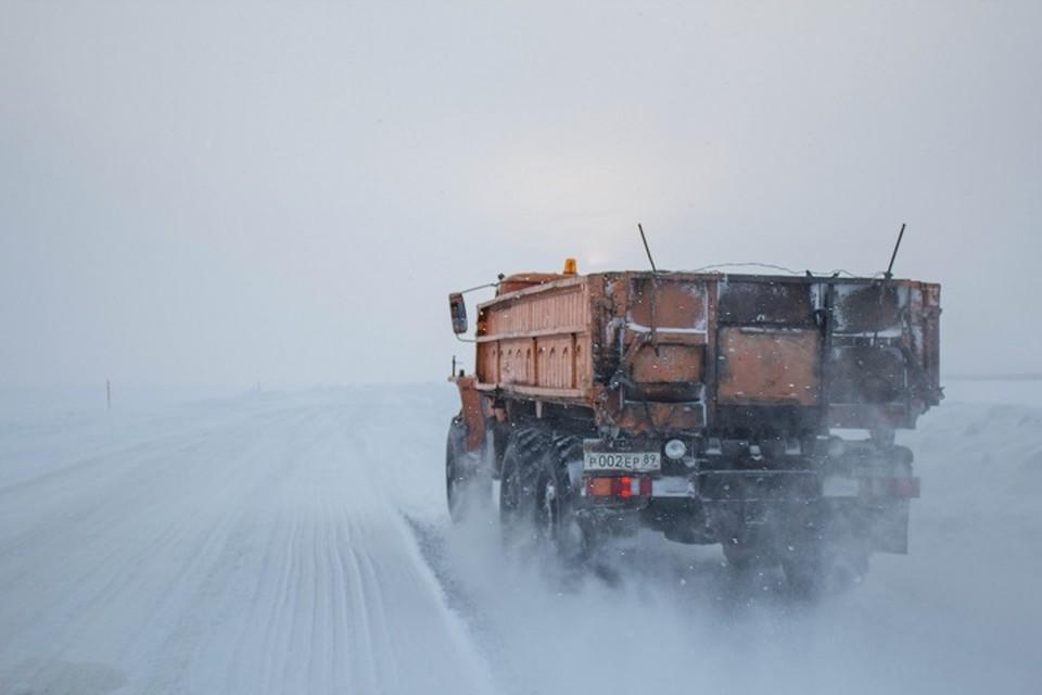 На Ямале открыли зимник Коротчаево – Красноселькуп Фото: Департамента транспорта и дорожного хозяйства ЯНАО