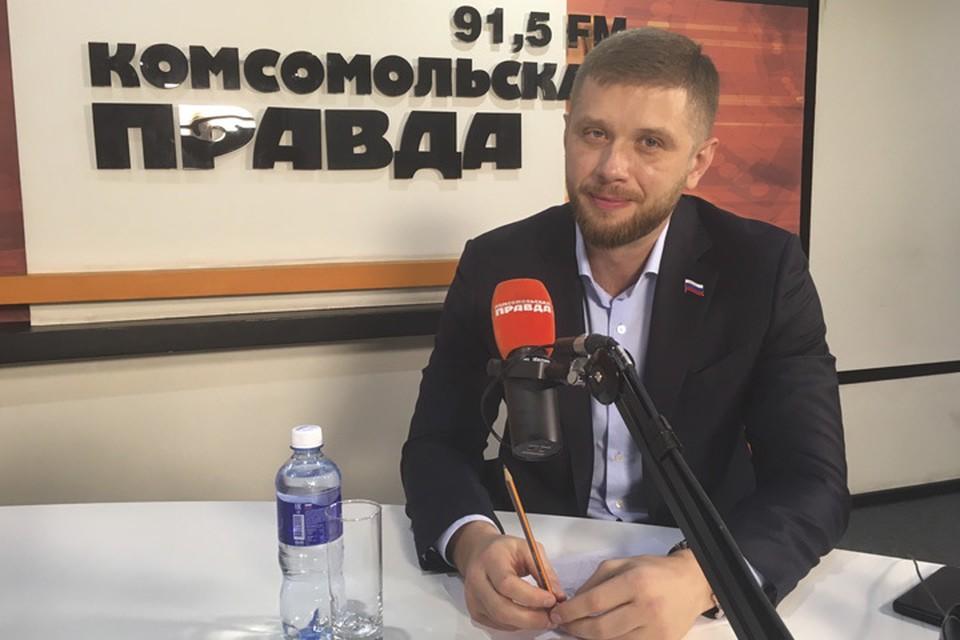 Евгений Стекачев - заместитель председателя Думы Иркутска, депутат по округу №28
