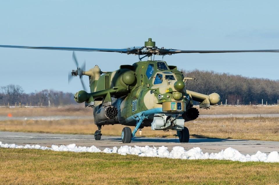 Ми-28 был приписан к вертолетному полку, который базируется в Кореновском районе.