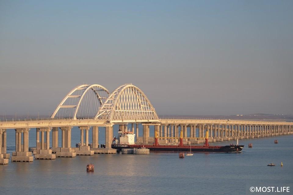 Железнодорожное движение в Крым торжественно запустят 23 декабря. Фото: инфоцентр Крымского моста
