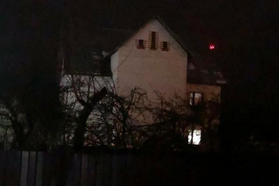 В этом доме жила многодетная семья Фото: предоставлено очевидцем