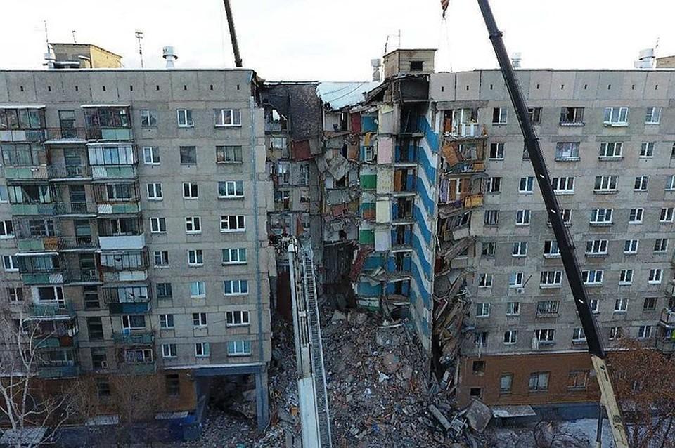 После взрыва снесли два подъезда. Фото: Артем Ибрагимов