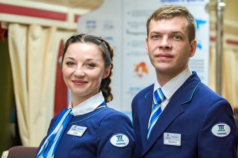 Анна и Никита Боловиновы. Фото: «Таврия»/Facebook