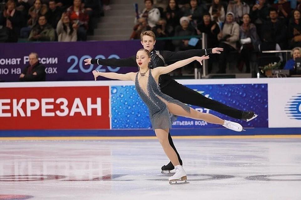 Александра Бойкова и Дмитрий Козловский - чемпионы России!