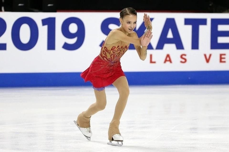 Щербакова стала чемпионкой России во второй раз