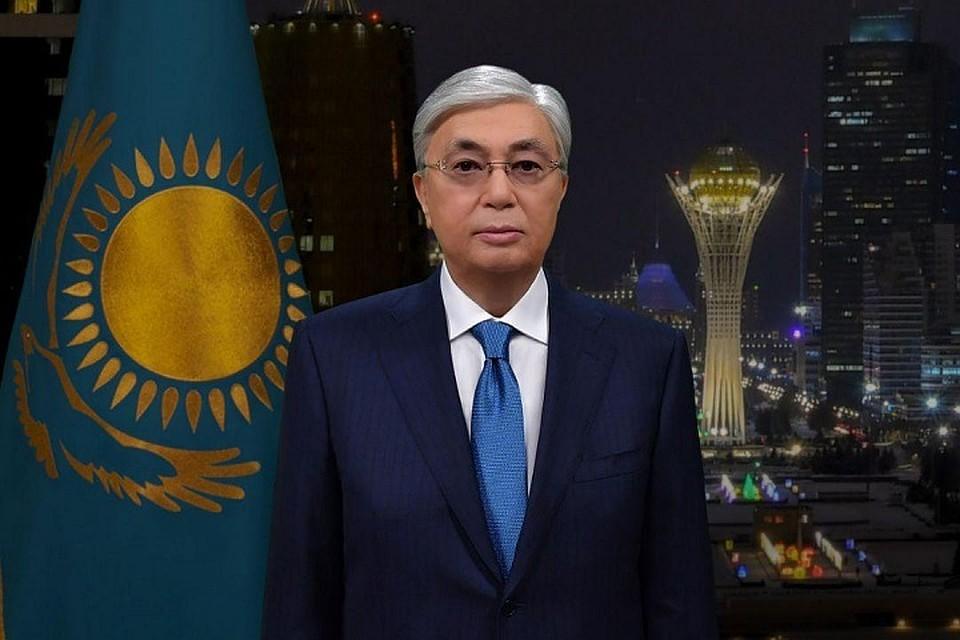 Как Касым-Жомарт Токаев поздравил казахстанцев с Новым годом