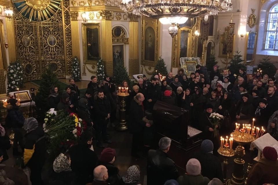 Церемония прощания с Андреем Павленко прошла в Спасо-Преображенском соборе. Фото: сайт Невские Новости.