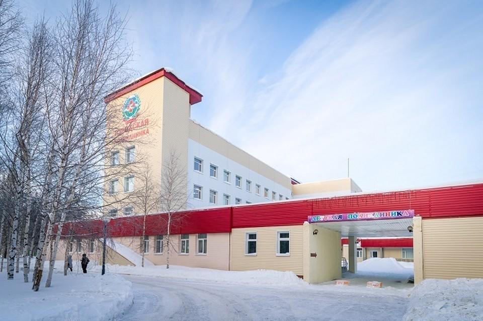 Обновленную детскую поликлинику открыли в Лангепасе. Фото правительства ХМАО.