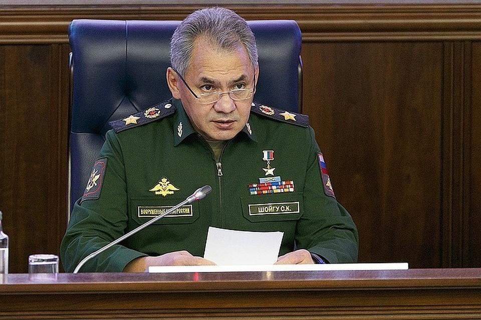 """Шойгу подчеркнул, что """"Военно-морской флот всегда был символом сильного Российского государства"""""""