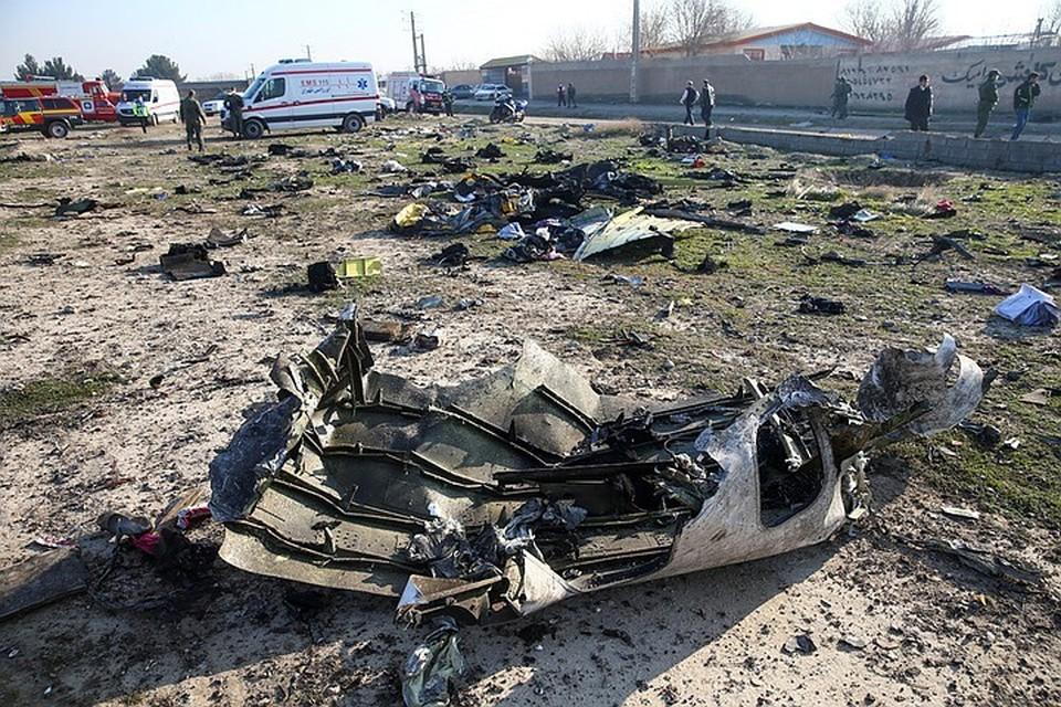 Иран опроверг версии о попадании ракеты ПВО в рухнувший в Тегеране украинский самолет