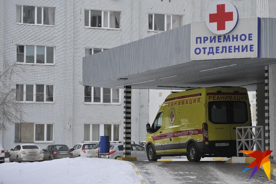 Сбитого поездом в Михайлове 12-летнего мальчика срочно доставили в Рязань.