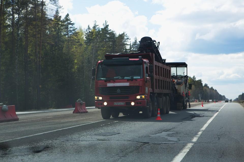 Владельцы фур заплатили за ущерб дорогам Ленобласти