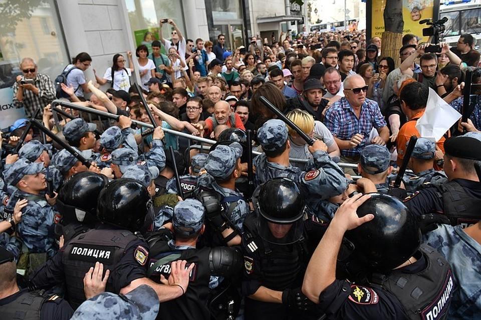 Главным событием этого лета стали протестные митинги.