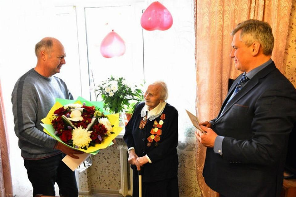 В военные годы Татьяна Артемьевна служила санитаркой на 1-м Украинском фронте