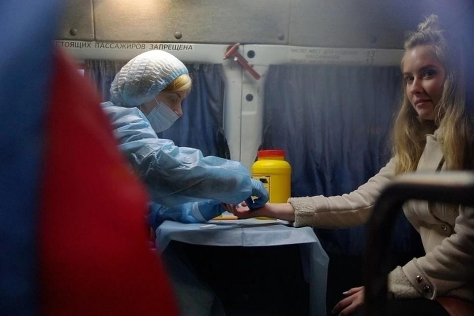 Желающие узнать свой ВИЧ-статус чаще идут на обследование в лабораторию, нежели проводят его дома.