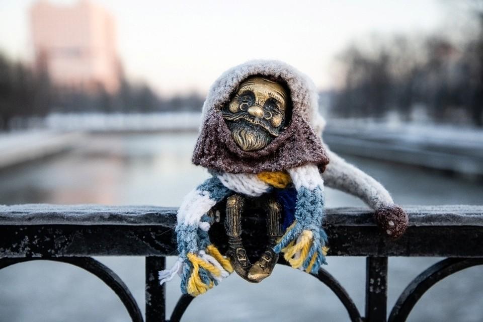 Хомлин на Медовом мосту заждался настоящего морозца.