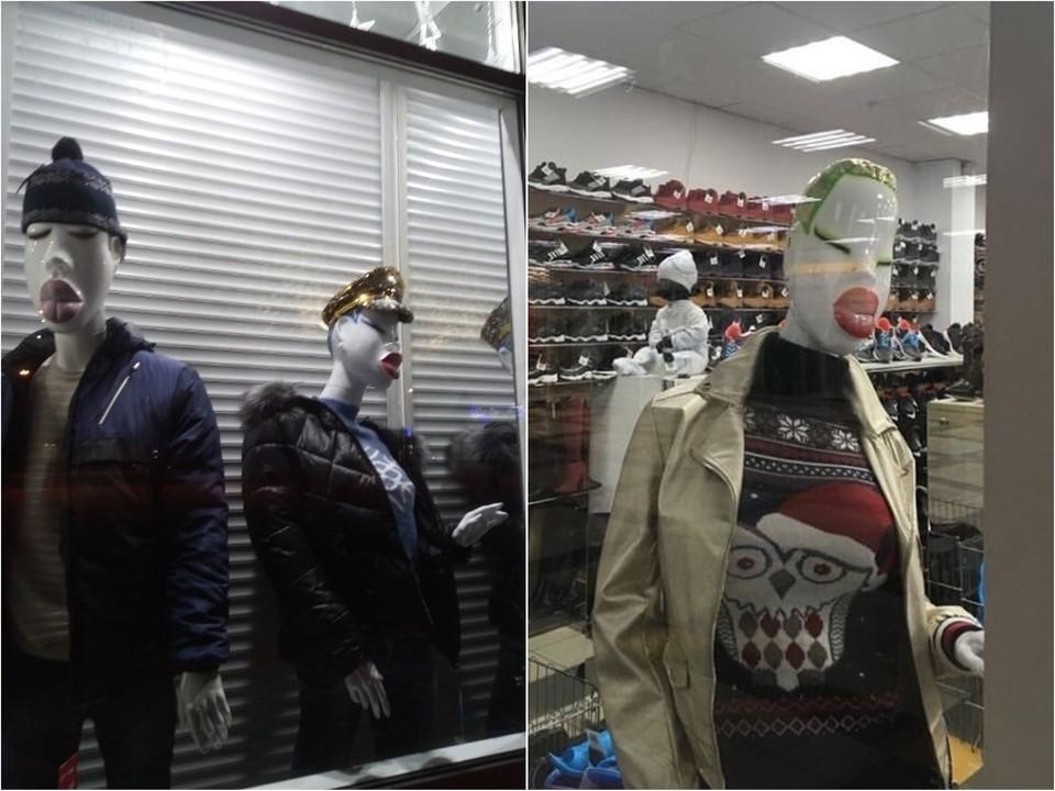 Манекены «на стиле» позабавили челябинцев. Фото: vk.com/«Нетипичный Челябинск»