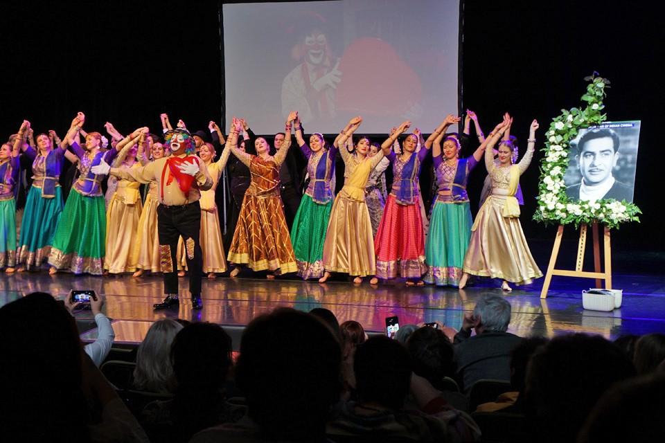 В московском Мюзик-Холле прошёл приём в честь 95-летия со дня рождения великого актёра Радж Капура. Фото: Ника ИВАНОВА