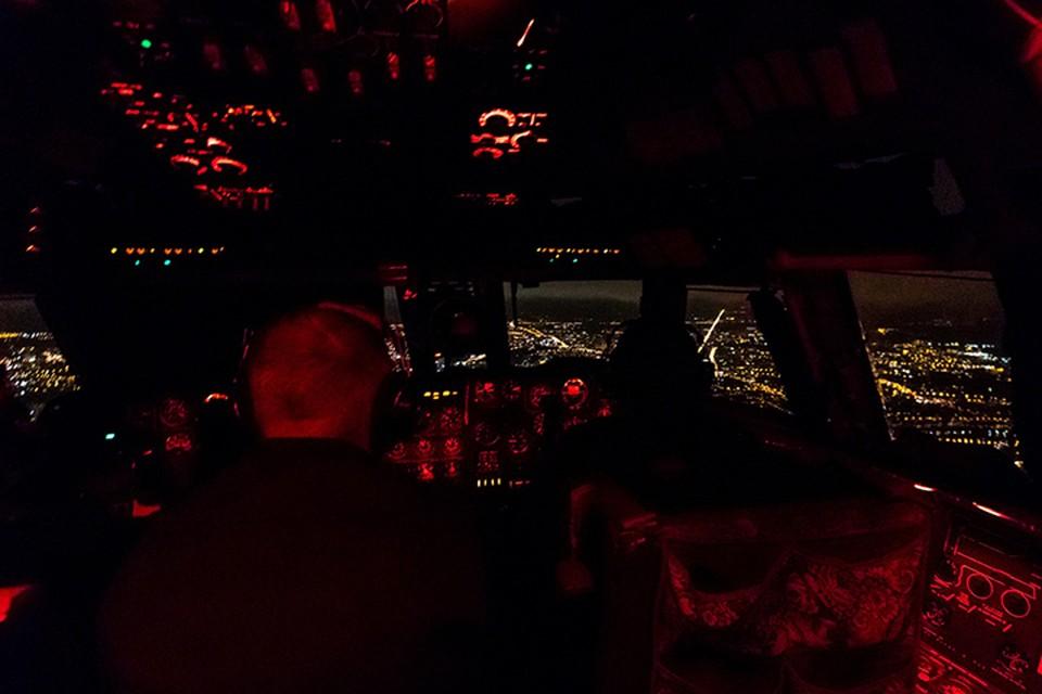 Летчики аэродрома Мигалово отработали ночные полеты Фото: Отделение информационного обеспечения 12 ВТАД