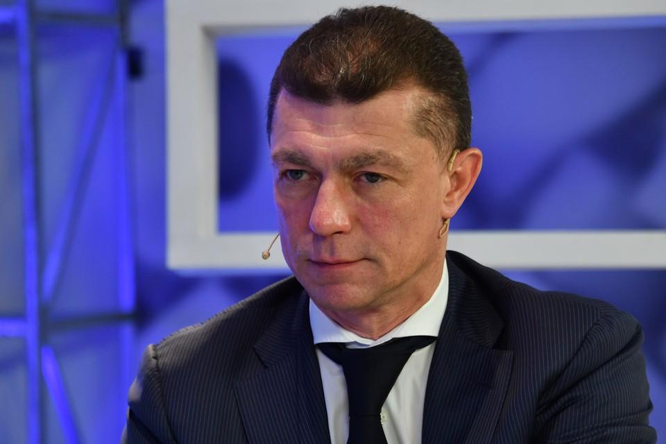 Максим Топилин на радио `Комсомольская правда`.