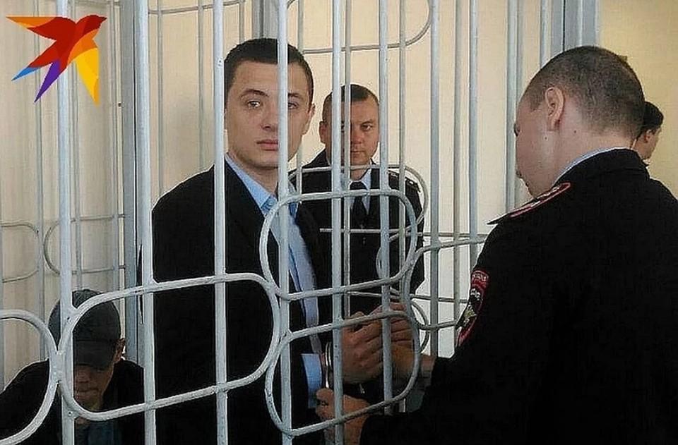 Савелий Никифоров во время оглашения приговора.