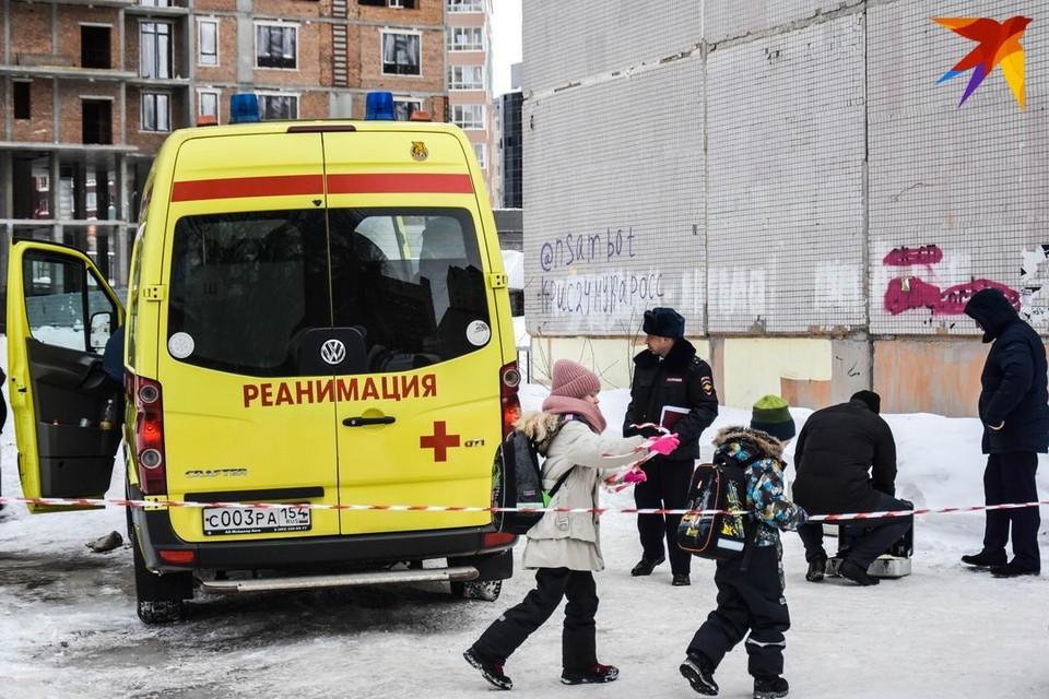 К месту трагедии приехала реанимация, но спасать было уже некого: ранение оказалось смертельным.