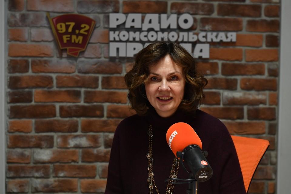 Основатель и генеральный директор компании Нейротренд Наталия Галкина в гостях у Радио «Комсомольская правда».
