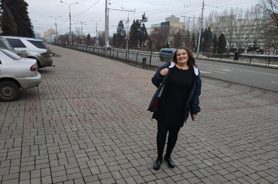 Монтян приехала в Донецк, чтобы своими глазами увидеть, как живут люди, которым чуждо всё, что идеализируют власти незалежной