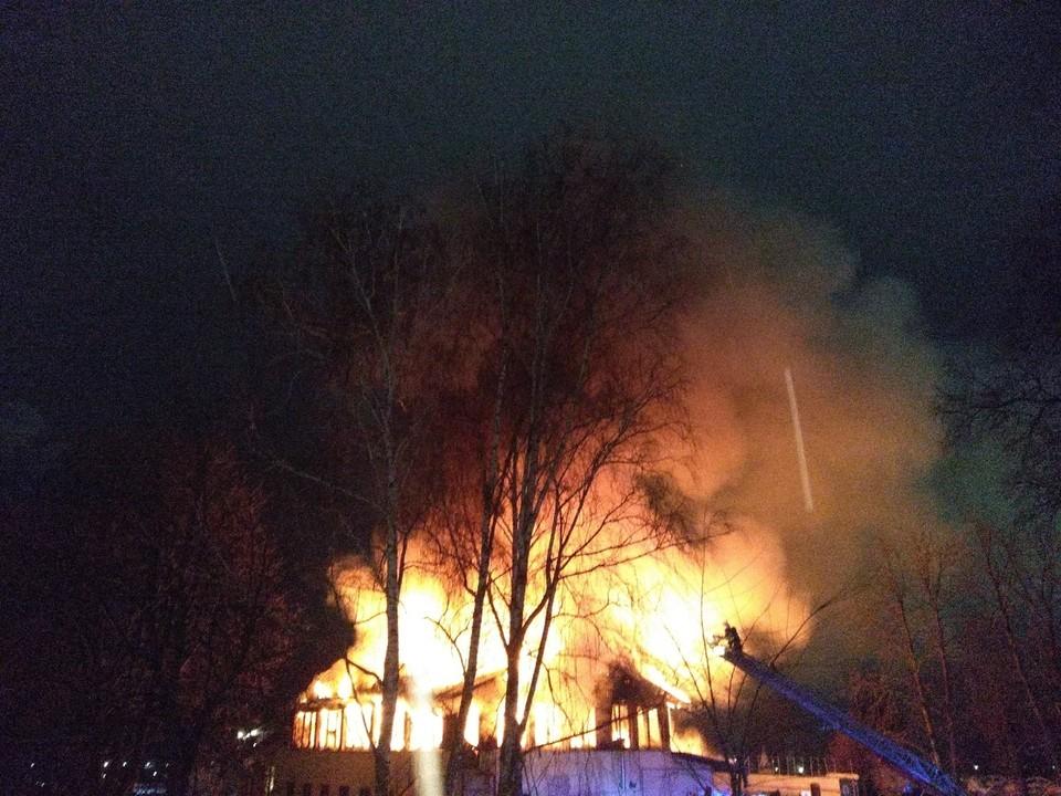 В январе спасатели эвакуировали на пожарах 37 человек