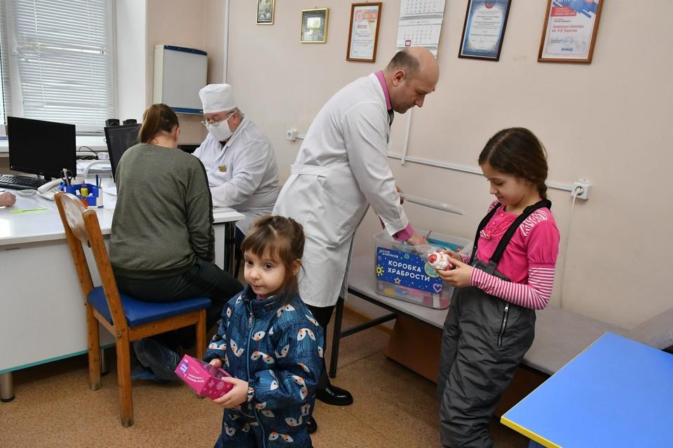 А у врача совсем не страшно! Фото: Юлия Рубцова
