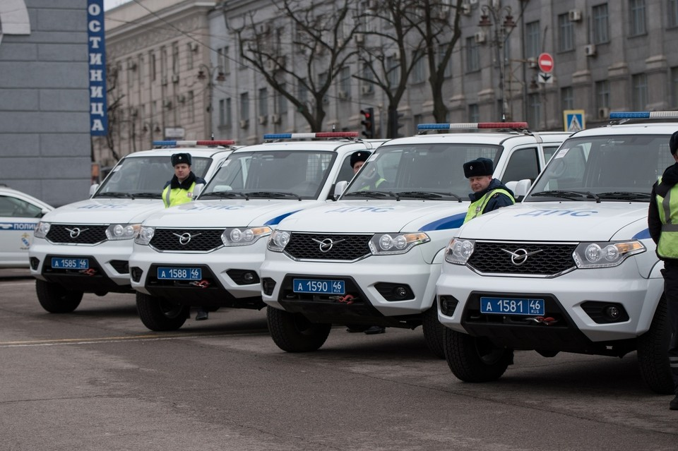 Всего в региональной Госавтоинспекции зарегистрирован 141 патрульный автомобиль