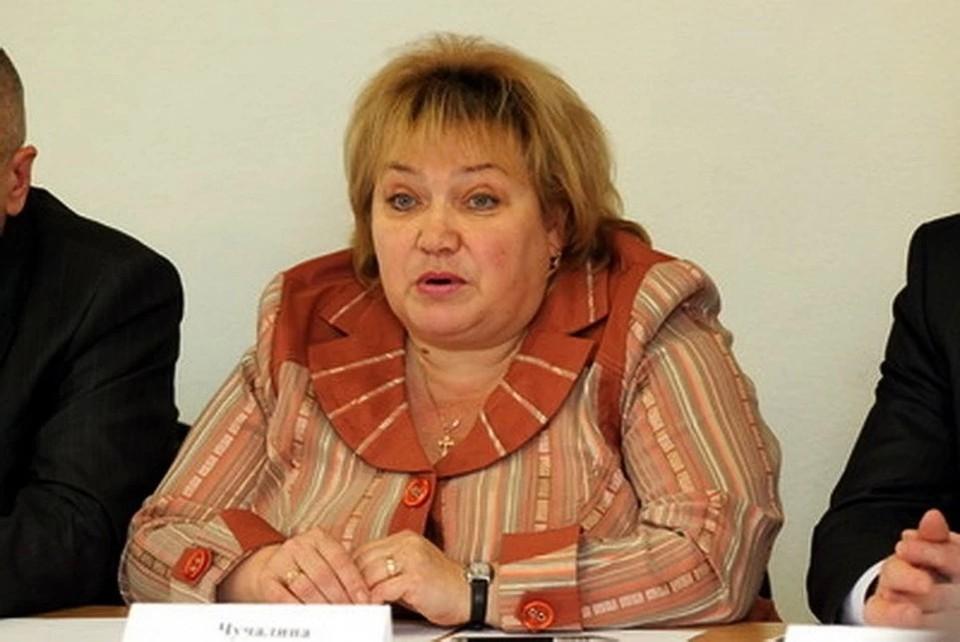 Ирина Чучалина во время работы в комиссии. Фото КомиОнлайна