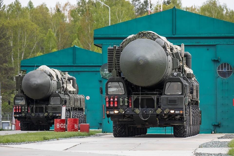 ПГРК «Ярс» в походном положении перед отправлением на боевое патрулирование, июнь 2019 г.