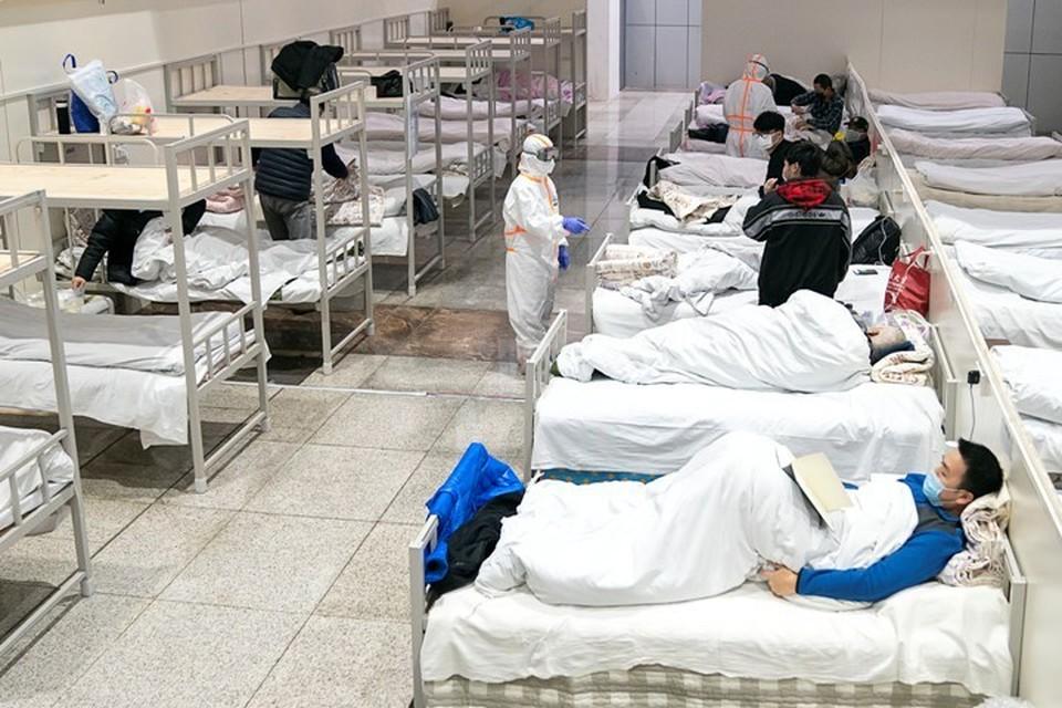 Число зараженных новым коронавирусом в Китае превысило 40 тысяч