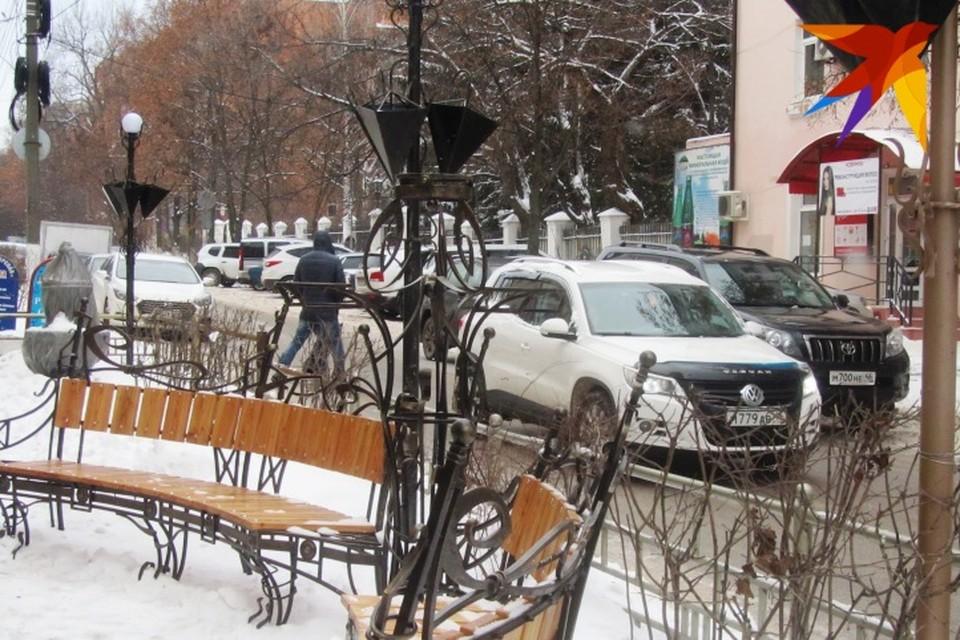 Авария произошла в Центральном округе Курска