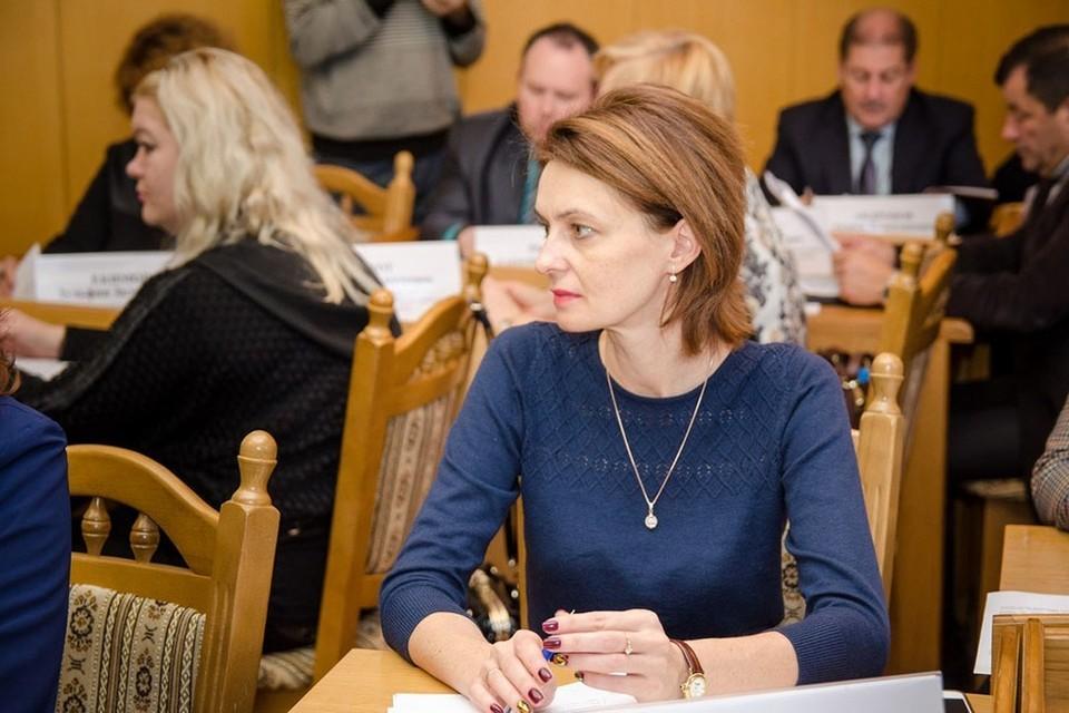 Елена Осадчая. Фото: пресс-служба КФУ