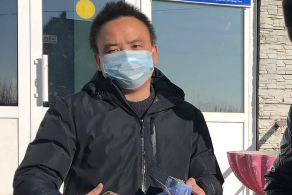 Китаец, переболевший коронавирусом, выписан из больницы в Забайкалье. Фото: минздрав Забайкалья