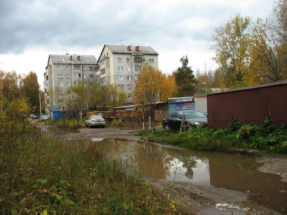 Судя по фото улица Маркова не самая уютная улица в столице Коми