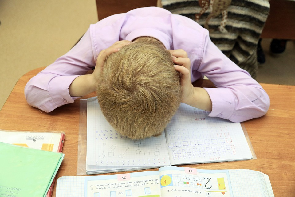 Российские ученики - мировые лидеры по уровню стресса, полученного в процессе обучения