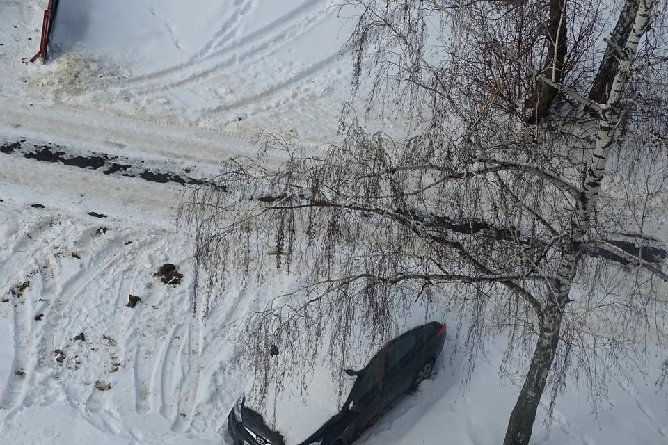 Главе Липецка не понравилось, как чистят снег во дворах