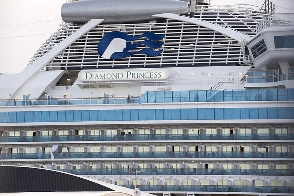 В результате тестов на борту судна коронавирус выявили у 542 человек, в том числе у 254 человек без симптомов
