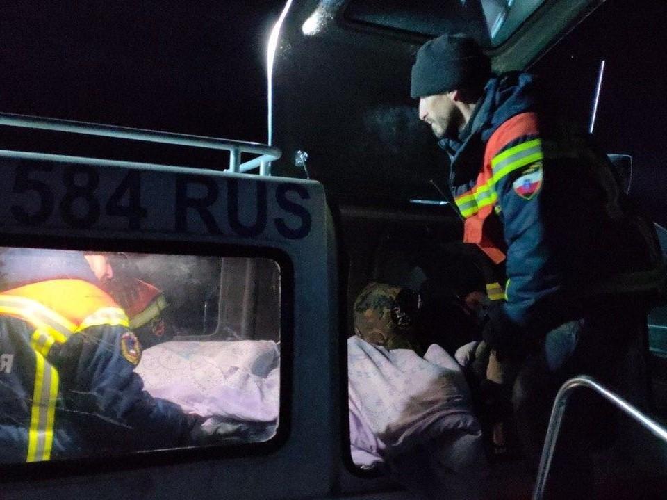 Фото Саратовской областной службы спасения