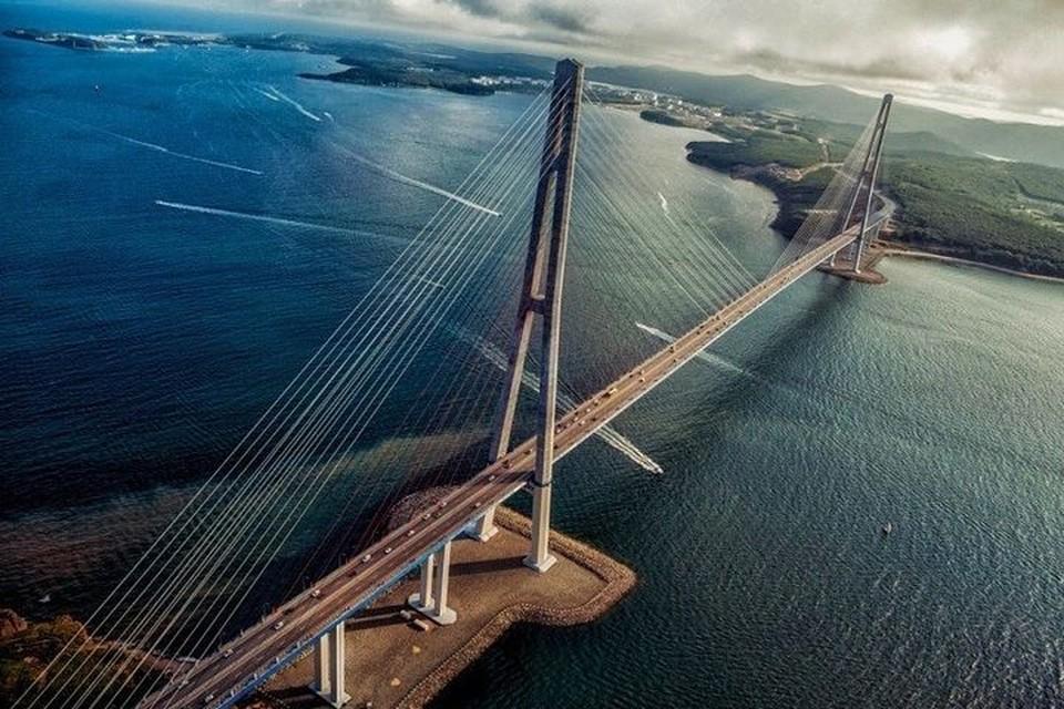 Русский мост признан одним из самых красивых. Фото: marikagermanika