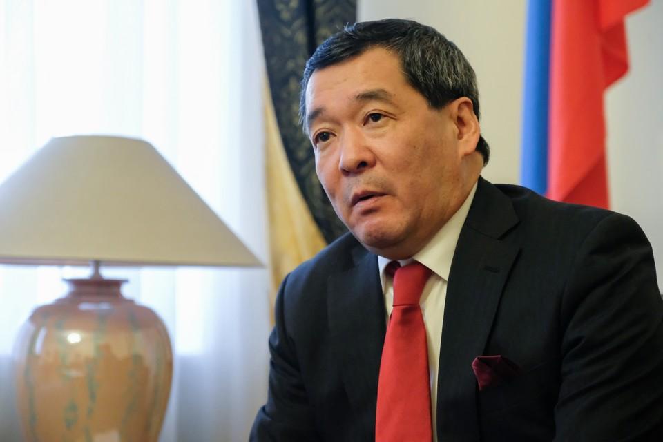 Генеральный консул Японии в Санкт-Петербурге Ясумаса Иидзима.