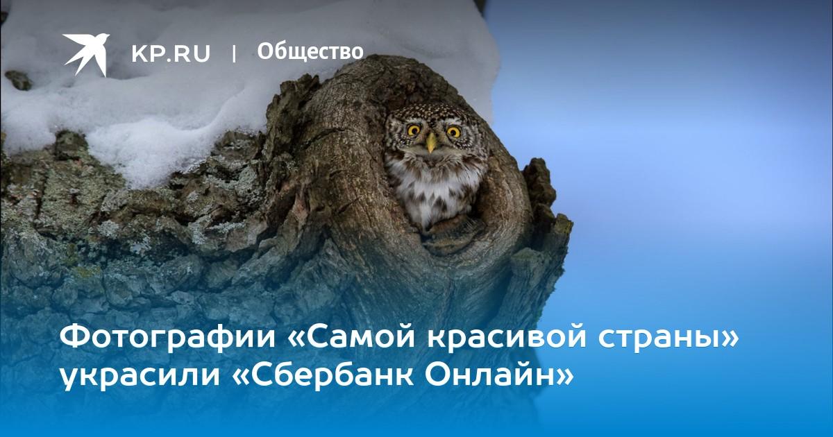 Фотографии «Самой красивой страны» украсили «Сбербанк Онлайн»