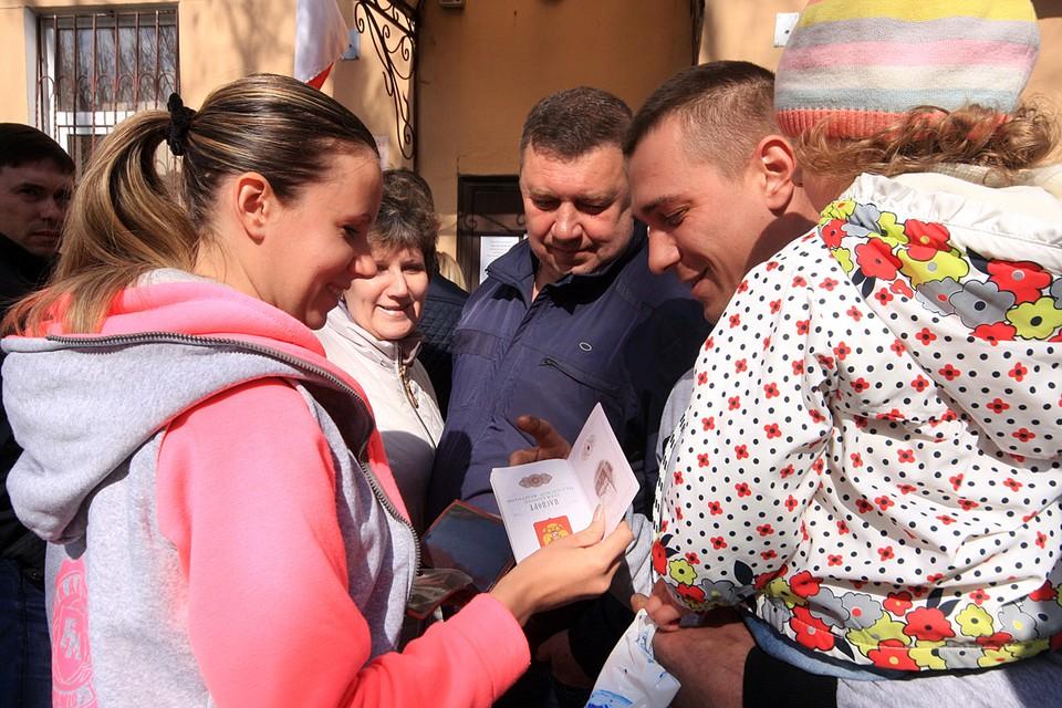 Хорошая новость для тех, кто мечтает получить российское гражданство, но до сих пор не может это сделать по бюрократическим причинам. Фото ТАСС/ Алексей Павлишак